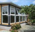 janela da grade de design vidros duplos de corte térmico de alumínio portas e janelas