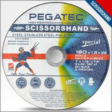 "7"" 180X1.6 X22.2MM Multi-purpose Abrasive Disc"