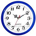 8 polegadas rodada de parede de quartzo relógio redondo