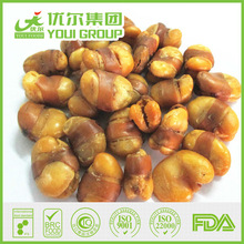 BRC / IFS / HALAL /OU KOSHER / FDA,salted belted broad bean / fava bean