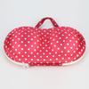 Colorful protective fashion style cheap EVA bra bag, bra shaped bag