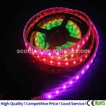 China supplier rgb led strip ws2811 5050 RGB flexible led strip,60leds/m, dc5v