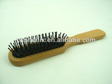 natural Wooden wood hair brush comb head care