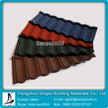 metal decramastic roof tiles/metal corrugted roof sheet/aluminum roof sheet