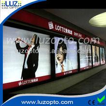indoor hanging or ground standing illuminated advertising light box
