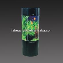 Professional design acrylic cylinder aquarium