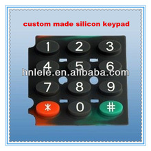 made in china silicon switch button soft silicon rubber buttons