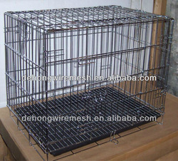 HOT SALE Wire Folding Pet Crate Dog Cage(ANPING FACTORY ISO9001 )