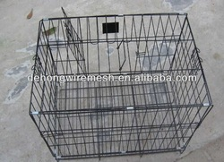 Many colors safty wire pet kennel,strong steel bar pet cage,sloping dog cages