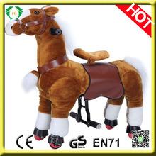 HI EN71 Hot sale horse scooter,giddy up rides,wooden rocking horse for sale