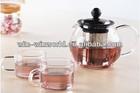 Handblown Tableware Heat Resistant Glass Grace Tea Ware