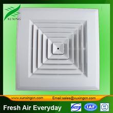 hvac plastic air ceiling diffuser / ventilation grilles
