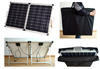 100W solar panel foldable with stand