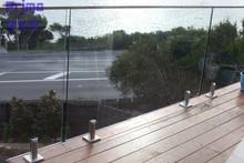 316 handrail glass holder for swimming pool handrail architectural exterior handrails PR-B1050