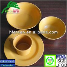 Resuable biodegradable tableware