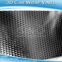 Automobiles & Motorcycles Black Fanshaped Black Car Decoration Vinyl Sticker