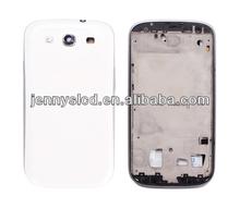 Original cell phone full housing for Samsung S3 i9300 houisng white