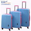shinny cabin luggage surface with spinners polo luggage bag factory