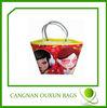 superior quality pp plastic handle shopping bag