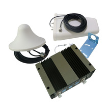 900/1800/2100MHz 60db Gain Cell Phone Tri band Signal Booster Repeater Amplifier GSM DCS 3G Wireless range extender