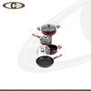 High quality nonstick coating cookware set soup pot&saucepan&frypan