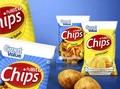 Las patatas fritas del bolso bolso polivinílico