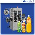 Pe / PLC / del animal doméstico de la manga de encogimiento máquina de etiquetado para botellas de bebidas