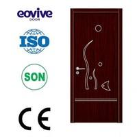 Elegant style safety wooden Tablero melamina door design
