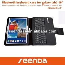 2014 For Samsung galaxy note 10.1 edition folio case with bluetooth wireless keyboard edit