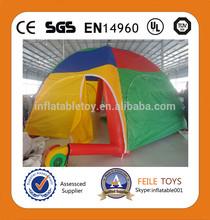 2014 venda quente inflável tenda bolha acampamento