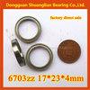 High Performance Miniature Deep Groove Ball Bearings 6703zz