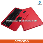 Seenda folio case keyboard leather case for galaxy tab 2 10 tablet 10.1 with stand oem
