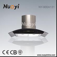 Europeo stile telecomando squillato cappuccio/cucina cappe da cucina usato NY- 900a132/ventilatore di scarico per la cucina