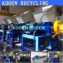 China High quality crusher crushing grinder grinding machine for plastic pet bottle pe pp plastic film