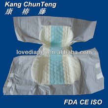 Qingdao BV SGS certificate non woven fabric disposable wholesale adult baby style diapers