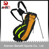 Light weight golf bag with stand