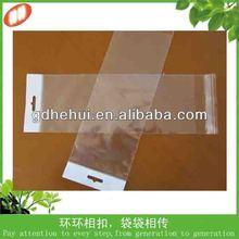 OEM customized hot selling plastic hair packaging bag