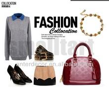 2014 hot selling latest designer pu handbags