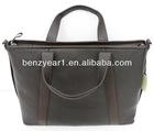 Business Men Real Leather Laptop Messenger Bag