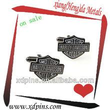 custom cheap metal cufflink with initials