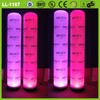 Beautiful design top selling attractive led inflatable advertising pillars