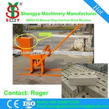 QMR2-40 clay low cost high profit manual block machine price in india,have office in Algeria,Nigeria,Momzanbique,Ethiopia,Kenya