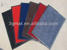 stripe polyester outdoor mat