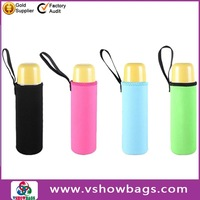 retractable pull along handle and real leather straps insulated beer cooler bags cooler bag
