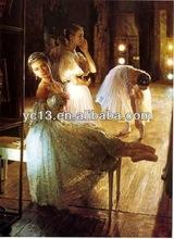 Deautiful Dancing Girl Oil Painting