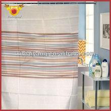 exotische stripe bad Dusche drapieren polyester vorhänge italienisch