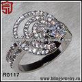 22k venta al por mayor de joyas de oro para méxico anillos de la joyería