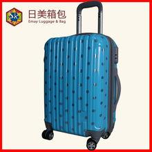 Polka Dot Hard Shell PC Trolley Luggage