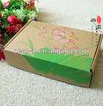 piante verdi stampato carta volte paperbaord indumento scatola di cartone ondulato scatola riciclata