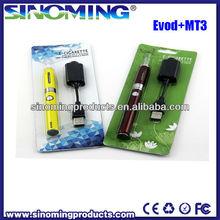 eVod twist Electronic Cigarette Starter Kit 650mah 900mah 1100mah eVod twist Single Blister E Cig Kit Variable
